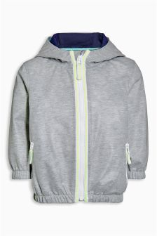 Showerproof Zip Through Hoody (3mths-5yrs)