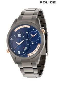 Police Dugite Gunmetal Watch