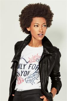 Only For You Graphic Top