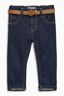 Belted Jeans (3mths-6yrs)
