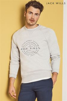 Jack Wills Light Grey Blackwell Sweatshirt