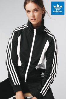 adidas Originals Black Sandra 1977 Track Top