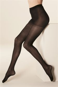 Patterned Tights Two Pack