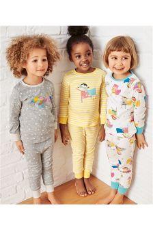 Superhero Snuggle Pyjamas Three Pack (9mths-8yrs)