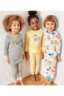 Superhero Snuggle Pyjamas Three Pack (9mths-8yrs)