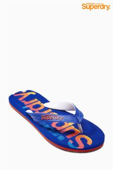 Superdry Blue California Flip Flop