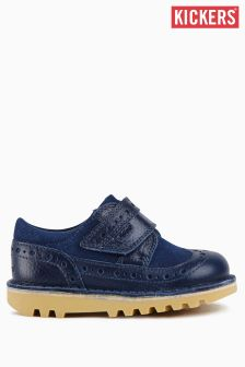Kickers® Navy Kick Longwing Shoe