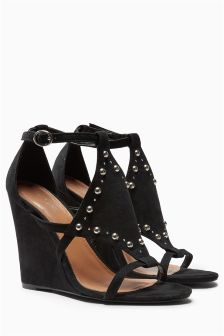 Stud Detail Wedges