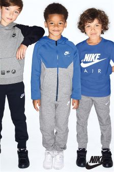 Nike Air Blue/Grey Fleece Tracksuit