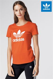 adidas Originals Red Trefoil Tee