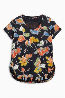 Ruffle Hem T-Shirt