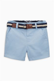 Belted Chino Shorts (3mths-6yrs)