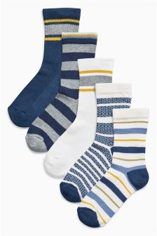 Socks Five Pack (Older Boys)