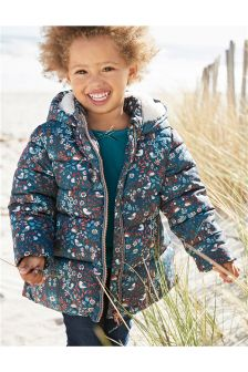 Floral Padded Jacket (3mths-6yrs)
