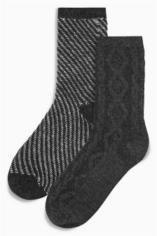 Boot Socks Two Pack