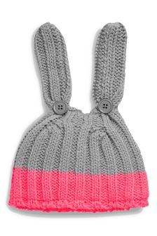 Bunny Knit Hat (0mths-2yrs)
