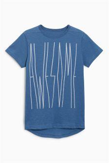 Awesome Print T-Shirt (3-16yrs)