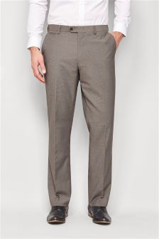 Gingham Regular Fit Trousers