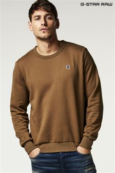 G-Star Green Smithfield Crew Neck Sweat