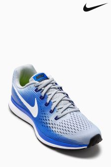 Nike Run Wolf Grey/Racer Blue Air Zoom Pegasus 34