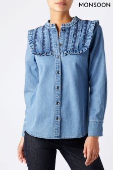 Monsoon Blue Jess Denim Shirt