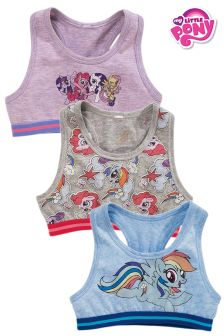 My Little Pony Crop Tops Three Pack (Older Girls)