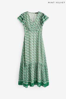 Beaverbrooks Platinum Diamond Cluster Ring