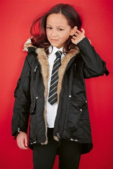 Buy parka coats Older Girls coats and jackets from the Next UK