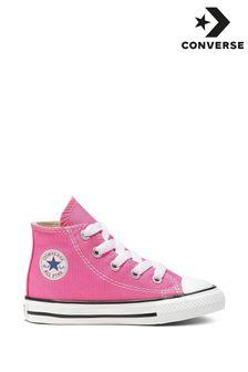 Pink Converse Chuck Hi