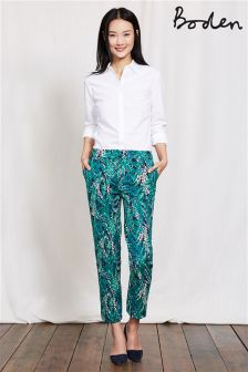 Boden Green Richmond Print Trouser