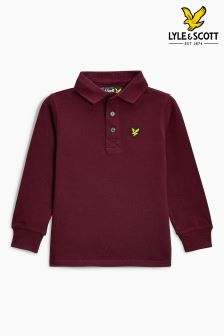 Lyle & Scott Long Sleeved Polo