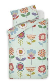 Retro Floral Bed Set