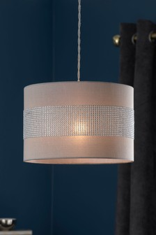 Buy lighting ceiling lights lamp shades lampshades ceilinglights diamant easy fit pendant mozeypictures Gallery