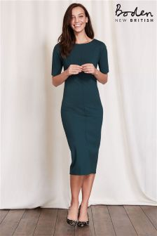 Boden Green Barbara Ponte Dress
