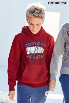Converse Burgundy All Star Overhead Hoody