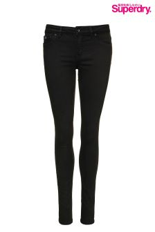 Superdry Coated Black Alexia Jegging