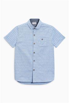 Short Sleeve Stripe Shirt (3-16yrs)