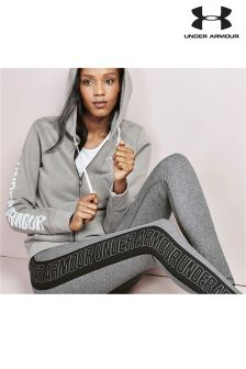 Under Armour Grey Wordmark Legging