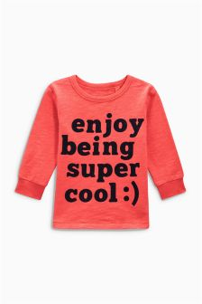 Long Sleeve Super Cool Top (3mths-6yrs)
