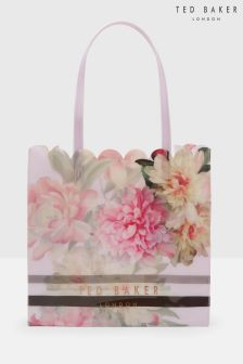 Ted Baker Pink Floral Icon Large Shopper