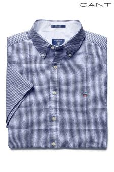 Gant Navy Gingham Shirt