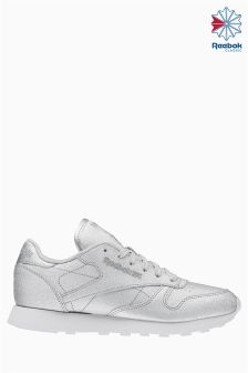 Reebok Silver Classic Leather