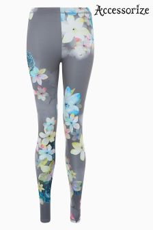 Accessorize Grey Urban Bloom Legging