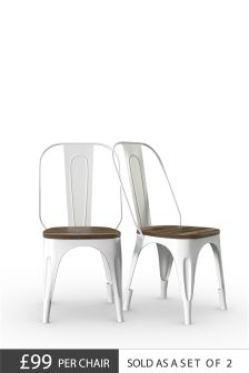 Set Of 2 Colton Dining Chairs By Baker Furniture