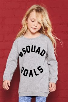 Squad Sweat Top (3-16yrs)
