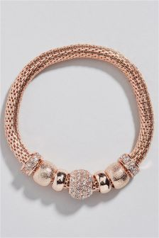 Sparkle Bead Expander Bracelet