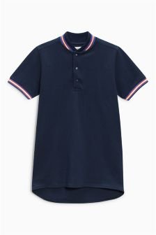 Baseball Neck Polo (3-16yrs)