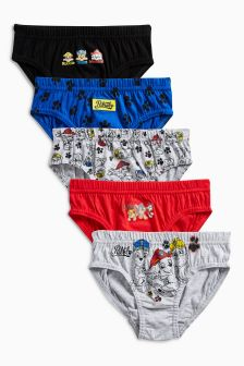 Paw Patrol Briefs Five Pack (1.5-6yrs)