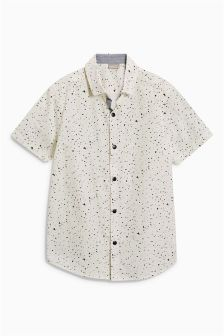 Short Sleeve Paint Splat Shirt (3-16yrs)