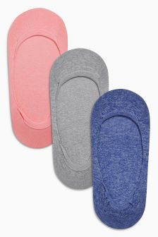 Marl Footsies Three Pack
